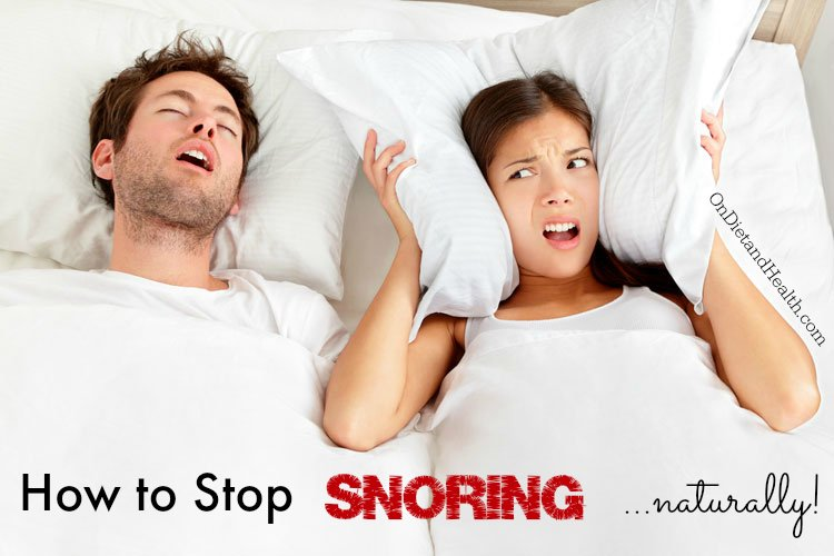 Natural tips to help you stop snoring
