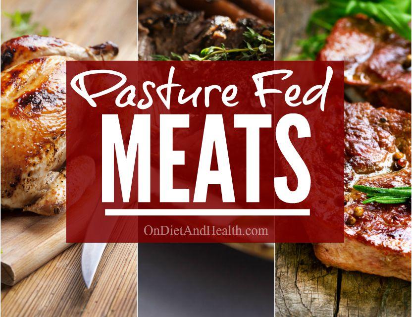 Pasture Fed Meats // OnDietAndHealth.com #paleo #pasturefed #sustainable