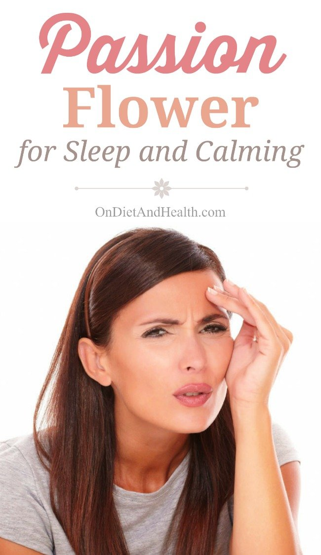 Passion Flower for Sleep and Calming helps insomnia, stress and ADHD. It calms the brain, relaxes the body and helps you focus. In my clinic and online store we prefer a premium liquid extract for easy dosing day or night. Safe and effective for pain, helpful for high blood pressure and anxiety. //OnDietandHealth.com
