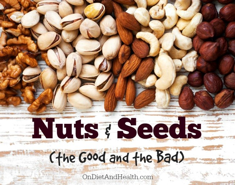 Nuts and Seeds on a Paleo Diet - the Good and the Bad