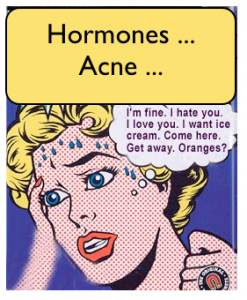 how to balance hormones male acne