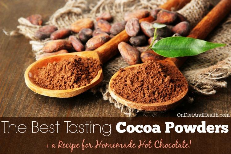 the best tasting paleo cocoa powders