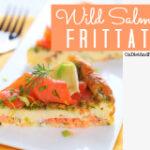 Primal salmon frittata