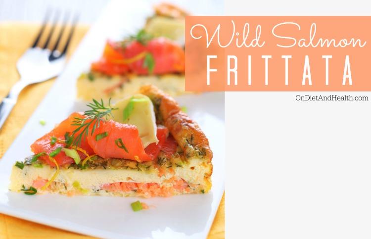 Primal wild salmon frittata