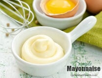 Simple, Delicious, Paleo Mayonnaise