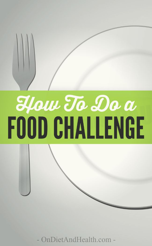 An empty plate with a fork ready to do a food challenge