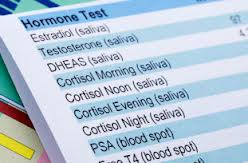 Saliva Hormone Test results