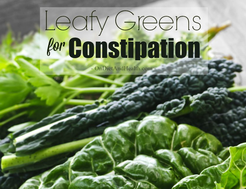 Does kale cause constipation