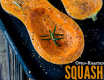 #Paleo Oven-Roasted Pumpkin and Squash // OnDietAndHealth.com