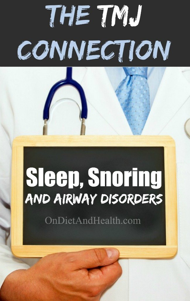 The connection between your airway, sleep, snoring and TMJ is a recent discovery. It's so new that 99% of dentists and doctors are unaware of it! Snoring and airway - yes. The bite and TMJ being part of the snoring problem? No! Find out why you may not need surgery to fix your snoring problem! // OnDietandHealth.com