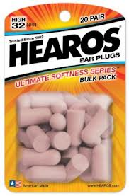 Hearos ear plugs for better sleep