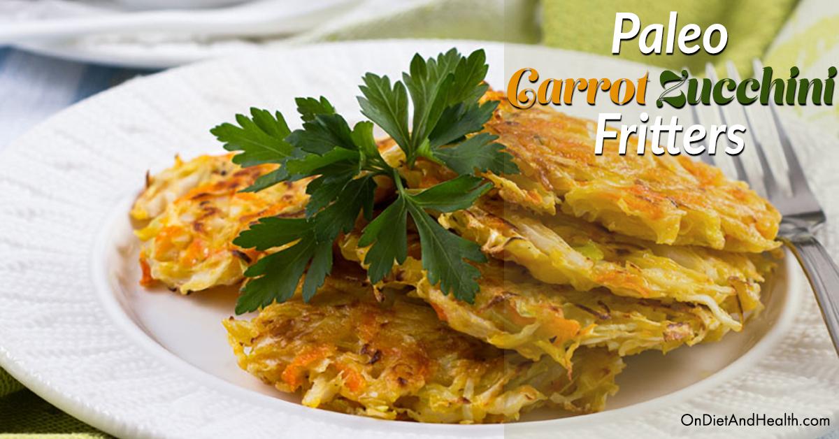 Paleo Carrot Zucchini Fritters