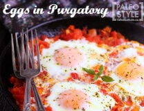 Eggs in Purgatory - - Paleo Style!