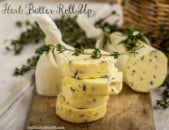 Herb Butter and Burgers
