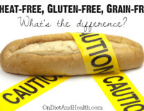 A loaf of bread on a plain white background could be a caution food for wheat-free meals