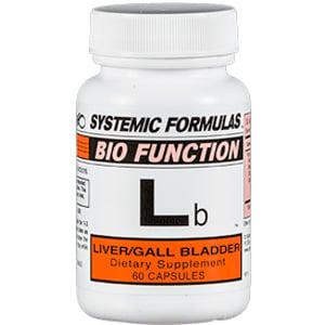 Systemic Formulas Lb liver and gallbladder support