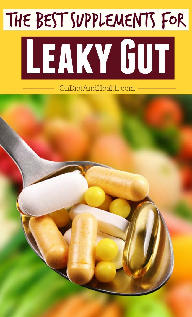 What are the best supplements for leaky gut syndrome? It may be the common factor underlying modern health concerns, including autoimmune problems, Fibromyalgia, and intestinal issues such as colon cancer and IBS. Find out more about what supplements are effective with leaky gut syndrome! // OnDietandHealth.com