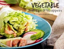 Vegetable Roll Ups and Wrappers for a Gluten-Free Paleo Diet - OnDietAndHealth.com