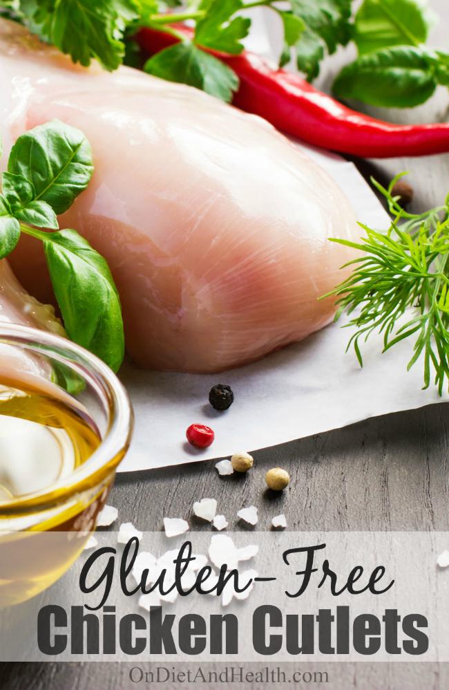 unprepared chicken and ingredients on cutting board