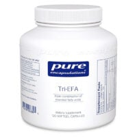 Pure Encapsulations Tri EFA 120 capsules w. Fish, Flax and Borage Oils
