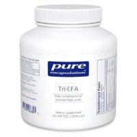 Pure Encapsulations Tri EFA 120 capsules w. Fish, Flax and Borage Oils