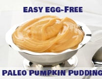 Easy Egg-Free Paleo Pumpkin Pudding - ondietandhealth.com
