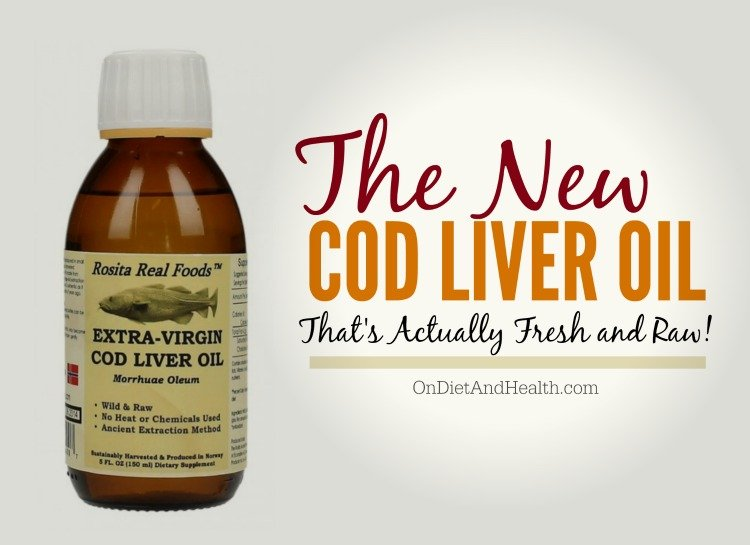 Fresh and Raw Cod Liver Oil