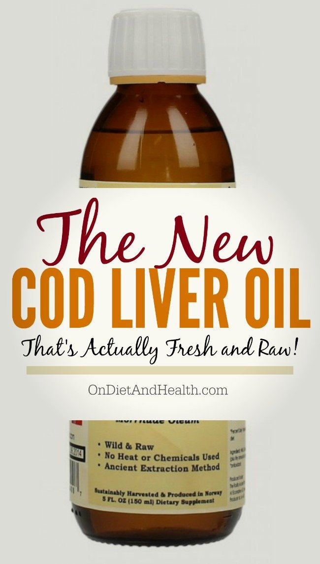 bottle of cod liver oil