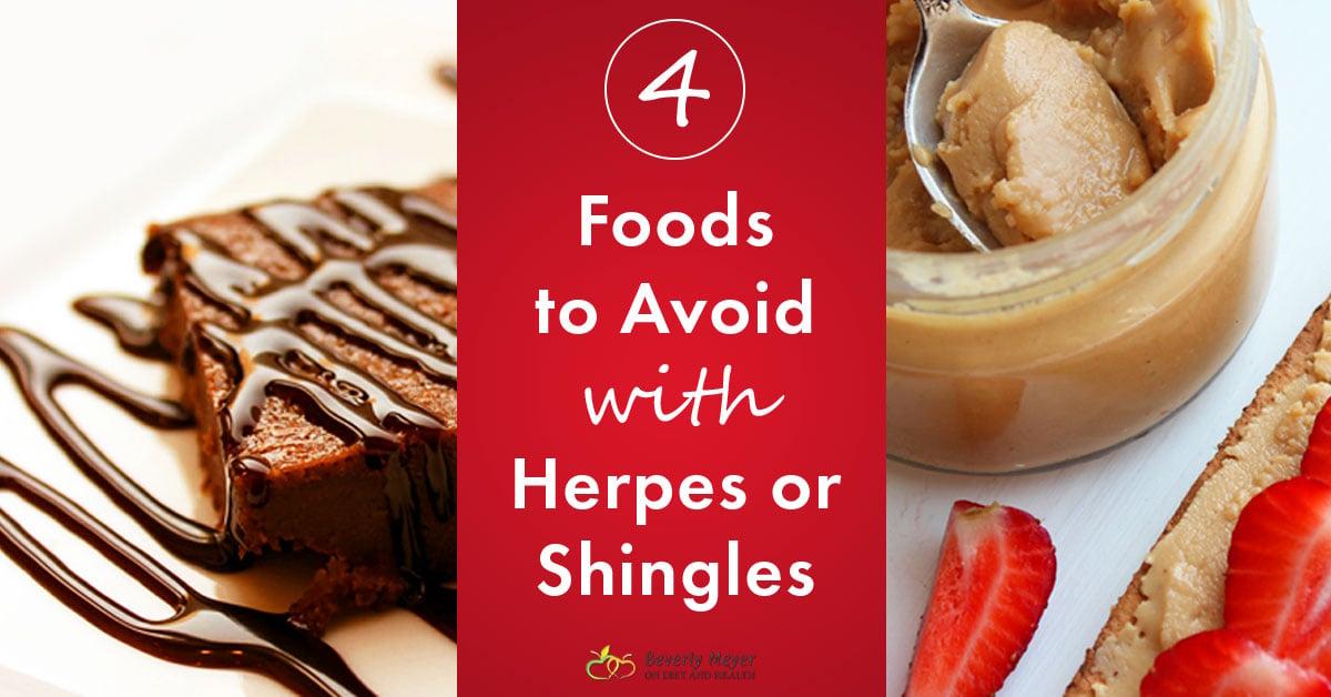 Shingles Diet Foods To Avoid
