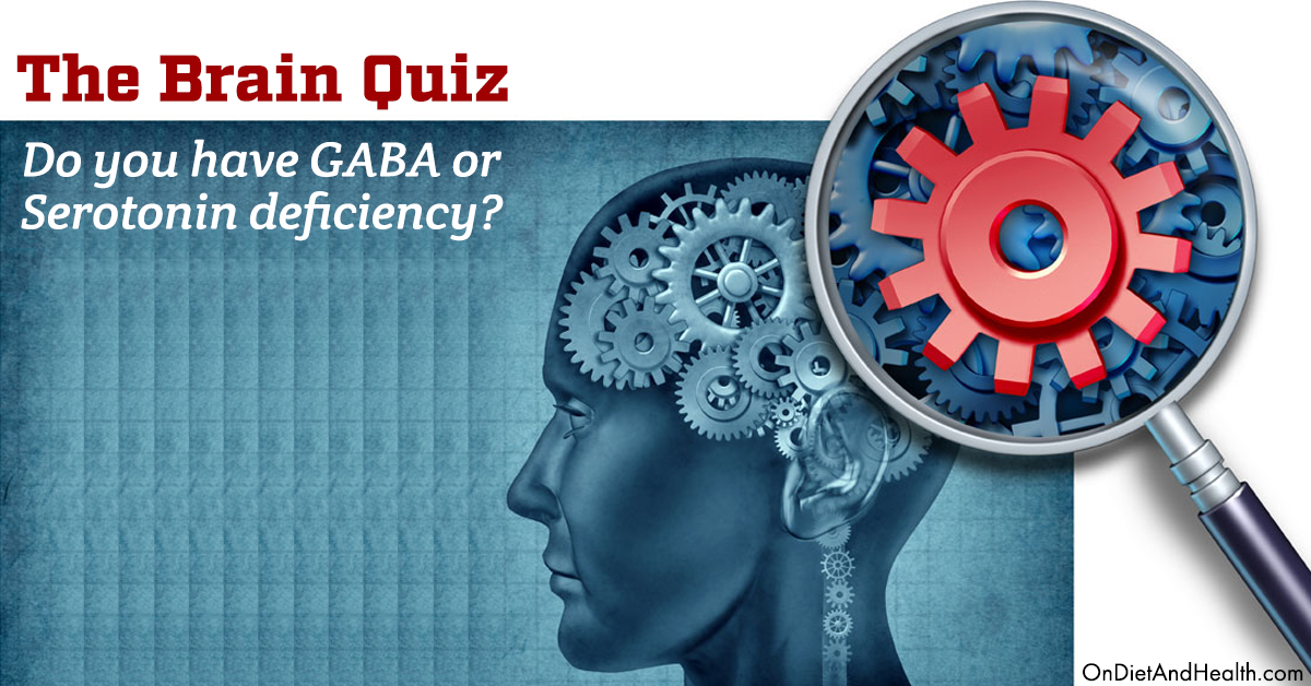 GABA and Serotonin Deficiency: The Brain Quiz