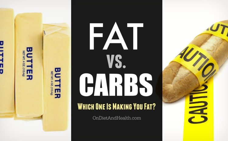 are fat or carbs to blame for weight gain?