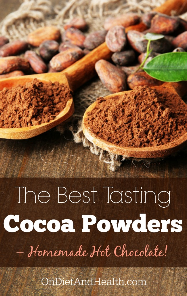 Looking for unsweetened cocoa powder? Find out which brands are the best for the Paleo Diet and check out my simple but delicious recipe for dairy-free, Paleo hot chocolate! // OnDietandHealth.com