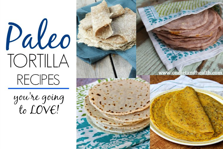 Check out these simple and delicious paleo tortilla recipes! Top with your favorite foods from breakfast to dinner to dessert!Check out these simple and delicious paleo tortilla recipes! Top with your favorite foods from breakfast to dinner to dessert!