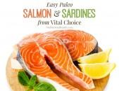 Easy Paleo Salmon and Sardines from Vital Choice