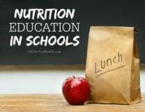 Nutrition Education In Schools