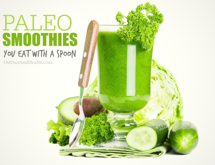 Green Paleo Smoothie Pudding