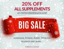 Year End Sale – 20% Off All Online Supplements!