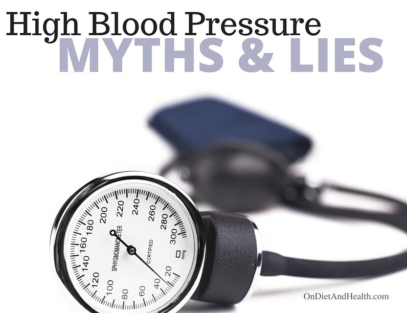 High Blood Pressure Myths And Lies