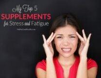 top five supplements for stress image