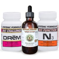 3 bottles of Passion Flower, DReM and N3 Relaxa