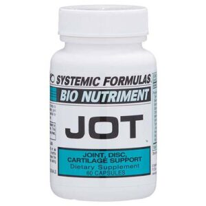 Bottle of Systemic Formulas JOT