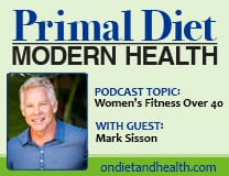 Mark Sisson on Women's Fitness Over 40 Podcast