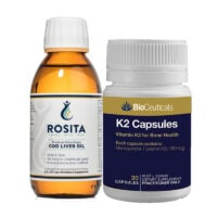 Rosita Cod Liver Oil plus Bioceuticals K2 Multi Pack