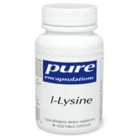 Pure Encapsulations L-Lysine Essential Amino Acid Supplement for #Herpes and Shingles // OndietAndHealth.com