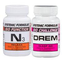 Sleep Multi Pack with Systemic Formulas N3 Relaxa and DREM Sleep Aid // OnDietAndHealth.com
