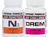 Sleep Multi Pack with Systemic Formulas N3 Relaxa and DREM Sleep Aid // OnDietAndHealth.com