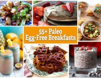 "Meats, smoothie bowls, ""cereals"", pancakes, biscuits, and more - all egg-free, all #Paleo // OnDietAndHealth.com"