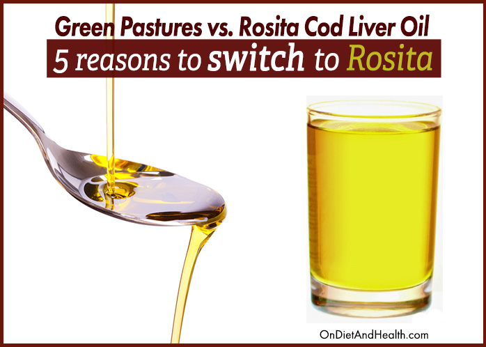 5 reasons to switch to rosita cod liver oil for Rosita fish oil