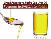 5 Reasons to Switch to Rosita Cod Liver Oil from Green Pastures // OnDietAndHealth.com