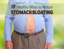 10 Healthy Ways to Reduce Stomach Bloating // OnDietAndHealth.com